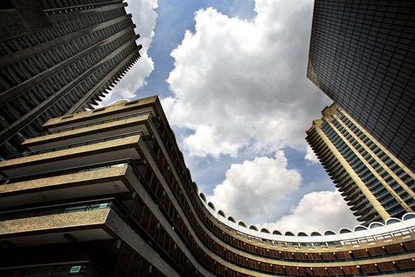 barbican centre near Fenchurch Street