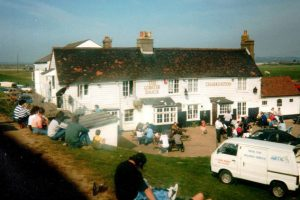 Lobster Smack pub, Canvey Island, in 1988