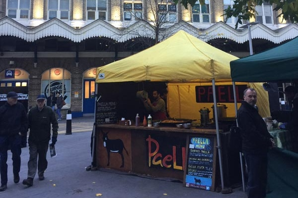 Fenchurch Street Food Market