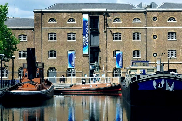 Museum of london docklands near Fenchurch Street