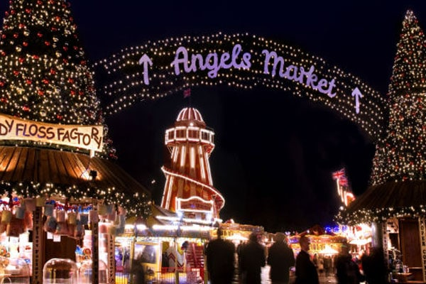 angels christmas market