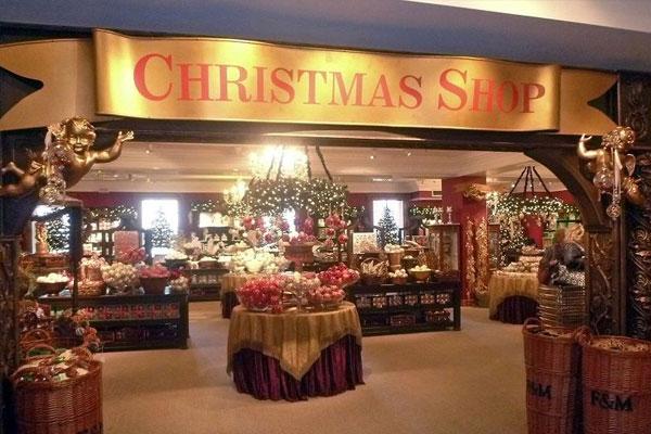 fortnum mason christmas shopping