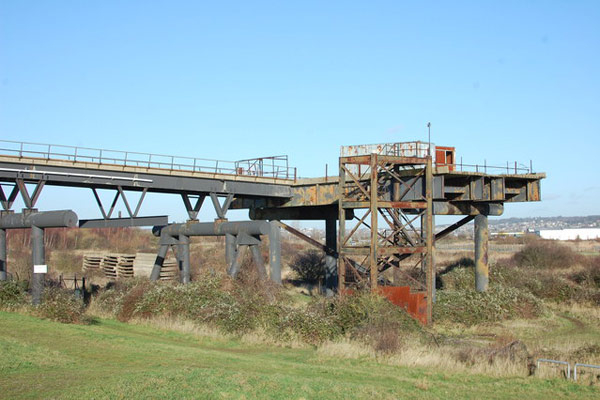 Canvey Island oil jetty disused