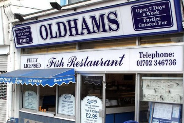 oldhams fish restaurant