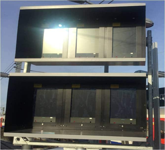 Sunlight On Dispatch Monitors