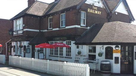 the railway D