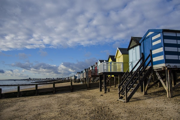 Southend thorpe bay beach huts C