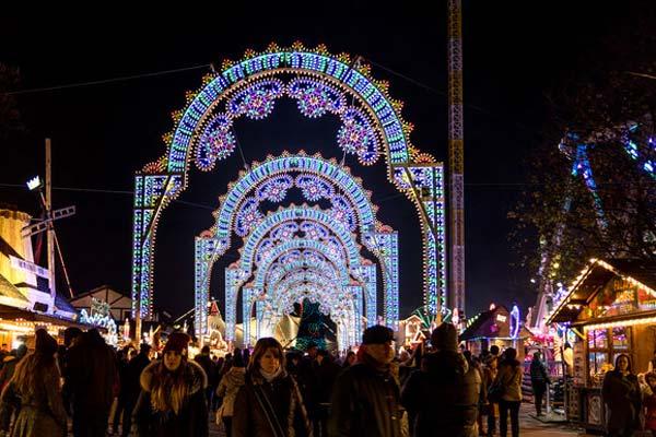 Winter wonderland lights