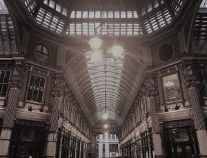 Inside Leadenhall Market
