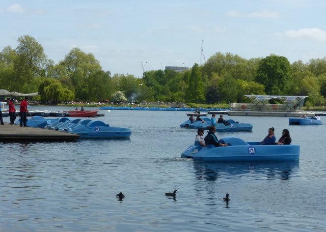 Hyde Park Boating