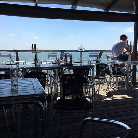 Boatyard Restaurant Leigh on Sea Deck
