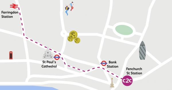 Walking Routes London Fenchurch Street To Farringdon